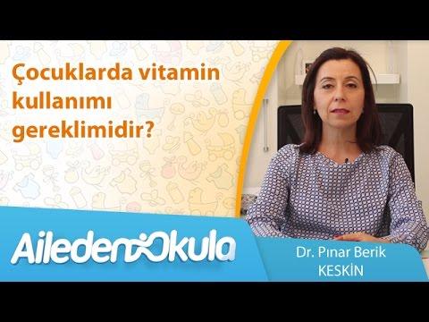 Çocuklarda vitamin kullanımı gereklimidir?