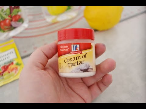 Tutorial: What Is Cream Of Tartar And What Can You Substitute For It?