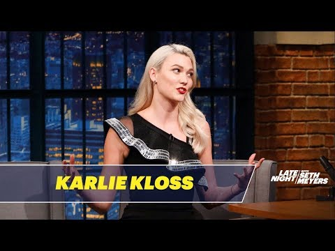 Download Karlie Kloss Has Cracked the Talk Show Host Code HD Mp4 3GP Video and MP3