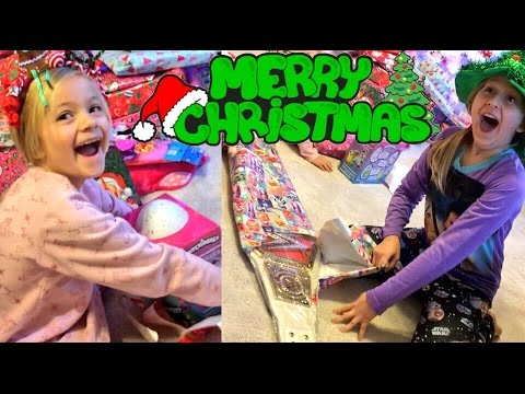 SHOCKED MY KIDS WITH AMAZING CHRISTMAS PRESENTS! WWE TOYS AND REPLICA BELTS! HATCHIMALS!