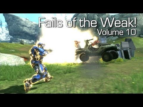 Halo: Reach - Fails of the Weak Volume 10 (Funny Screw-Ups ...