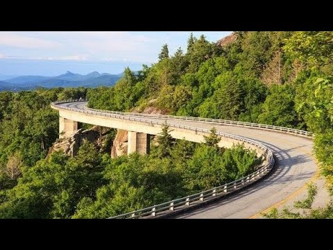 Beautiful Mountain Roads Of Austria (видео)