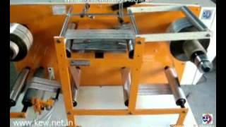 KEW Doctoring Rewinding Machine, Winder Rewinder Machine