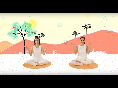 """YOGIC / Yoga para niños - Cápsula """"Rugir como el león"""" - Juegos y canciones infantiles"""