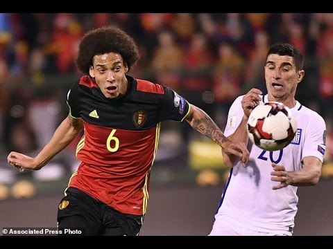 Belgium - Greece 1-1 Goals and Highlights 25/03/2017