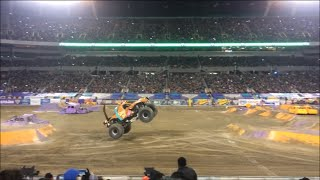 SUBSCRIBE:  Check out the great freestyle event by the Scooby Doo Monster Truck at the 2015 Monster Jam in Orlando, FL.  The Scooby Doo Monster Truck had some great high flying jumps, donuts and crushed a lot of cars.