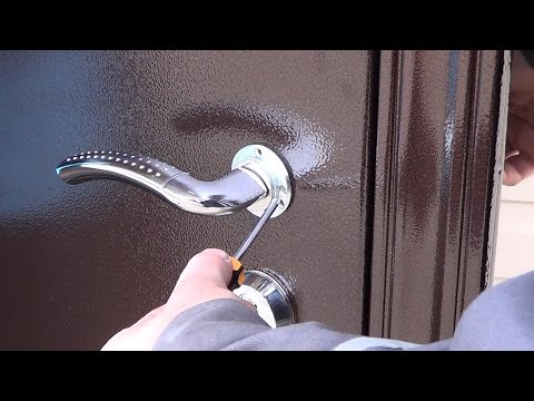металлическая дверь монтаж