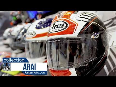 Arai motorcycle helmet collection 2018 | FortaMoto.com