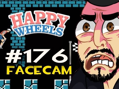 Happy Wheels w/Nova Ep.176 FACECAM - THE IMPOSSIBLE MARIO LEVEL Video