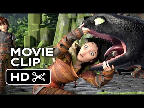 How To Train Your Dragon 2 Movie CLIP - He's Beautiful (2014) - Gerard Butler Sequel HD