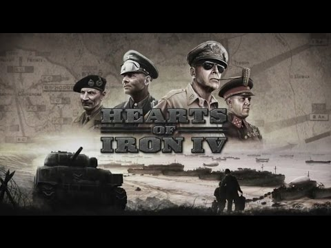 hearts of iron 4 trailer gameplay