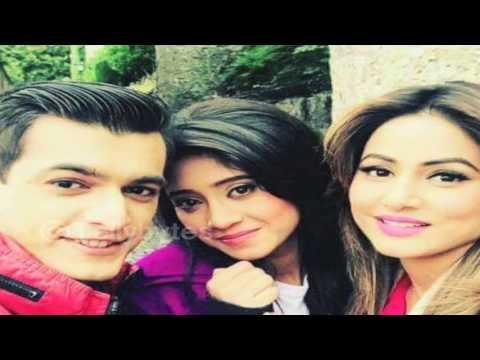 Shivangi, Mohsin, Kanchi and Hina aka Naira, Karti