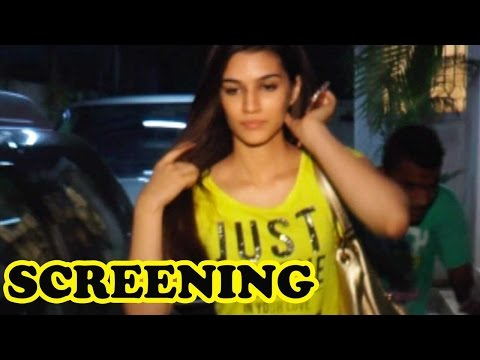 Kriti Sanon Attends James Bond Spectre Screening!