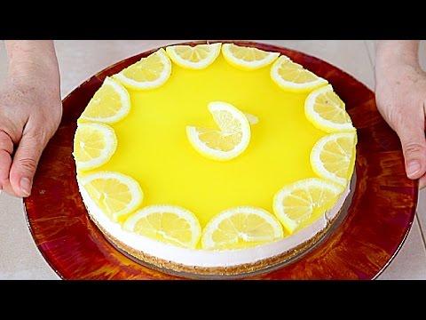 deliziosa cheese cake al limone - ricetta