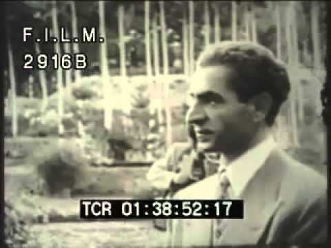 Shah of Iran (stock footage / archival footage)