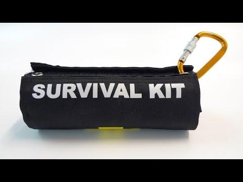Desktop Office Urban Survival Emergency Kit (видео)