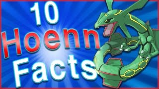 10 Interesting Facts About the Hoenn Region! by HoopsandHipHop