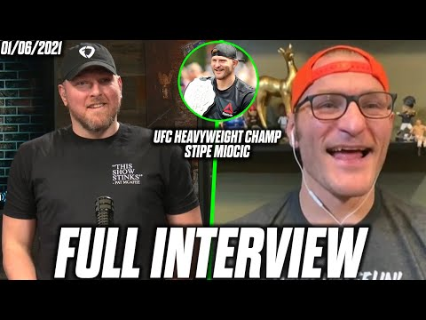 Pat McAfee & Stipe Miocic Talk Stipe's Next Fight, Being A Browns Fan, And More