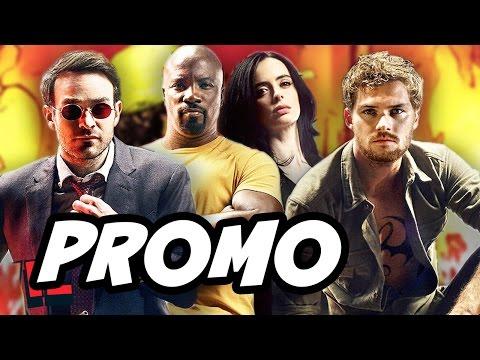 Defenders Promo Breakdown - Daredevil, Iron Fist, Luke Cage, Jessica Jones