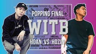 Hoan vs Hozin – WITB 2019 Popping Final