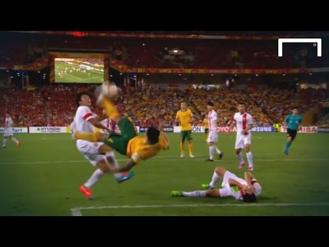 Tim - The Australian talisman scored a wonderful bicycle kick during their 2-0 AFC Asian Cup victory over China. The 35 year-old former Everton player scored both goals to see the hosts progress...