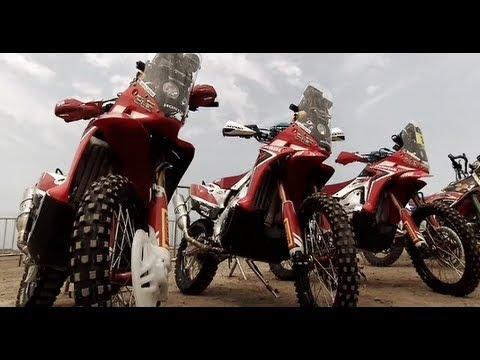 Equipa HRC Dakar 2013