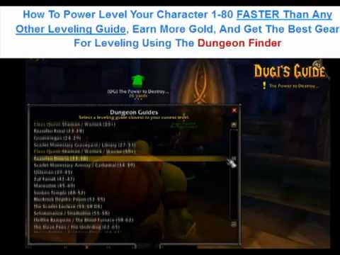 dungeon finder - http://tiny.cc/wowdungeonguides wow Dungeon Guide WoW Dungeon Leveling Guide - Dungeon Finder