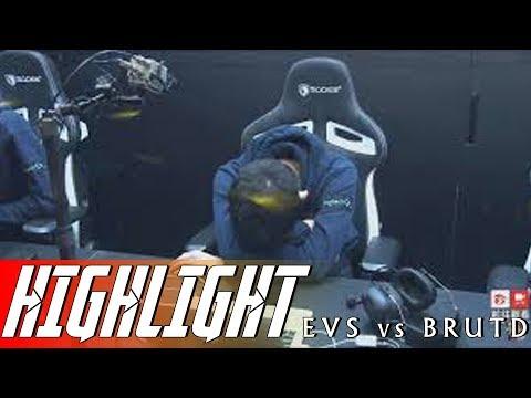 Highlight EVS vs BRUTD -  Kịch bản KHÔNG TƯỞNG - RPL Thái Lan Mùa 3 - Thời lượng: 6 phút, 4 giây.
