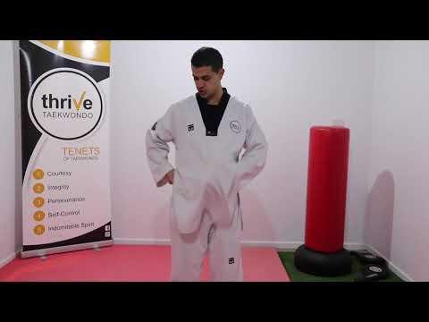 How to wear your Taekwondo Uniform correctly