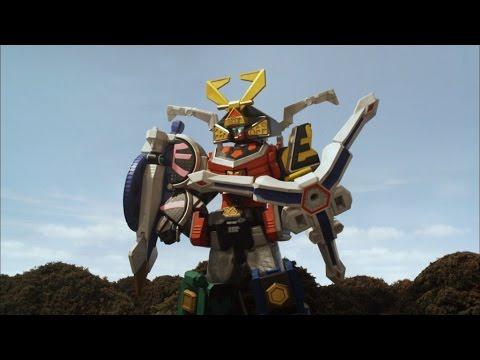 Octo Spear Megazord Debut Fight (Power Rangers Samurai) | Power Rangers Official