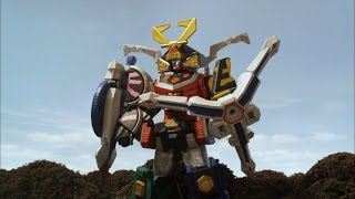 Video Octo Spear Megazord Debut Fight (Power Rangers Samurai) MP3, 3GP, MP4, WEBM, AVI, FLV Januari 2019