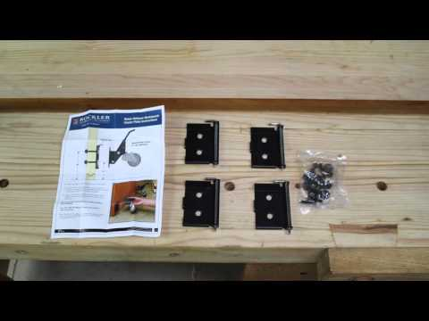 Rockler Workbench Caster Kit with New! Quick-Release Plate