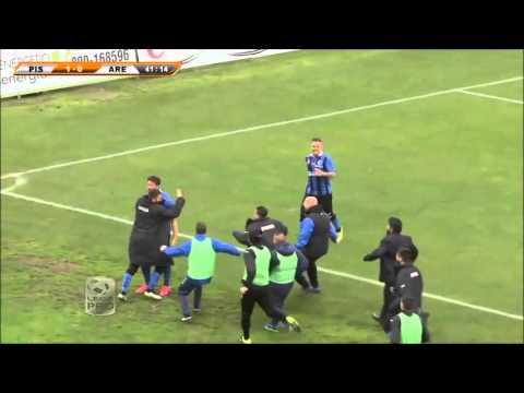 Pisa-Arezzo 2-0, le immagini della partita