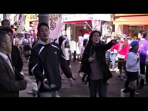 12/11/10椎名町新駅舎セレモニー開催模様/富士見台小マーチングバンド