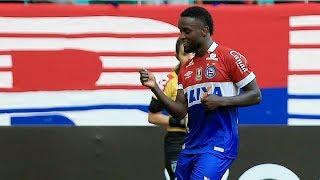 Com dois gols de Mendoza e u de Tiago, o Bahia vence o Vasco da Gama na Fonte Nova, e Salvador pela 21 rodada da Série A...