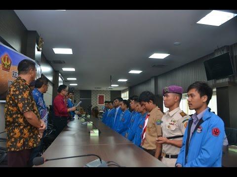 Dok Humas Untad,  Pelantikan Ketua – Ketua  Lembaga Mahasiswa UNTAD, 15 April 2016