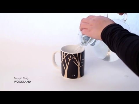 Kaffeebecher WOODLAND MORPH MUG Video