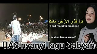 Video UAS nyanyi lagu Sabyan MP3, 3GP, MP4, WEBM, AVI, FLV September 2018