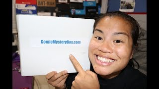 2017 June Comic Mystery Boxhttp://www.comicmysterybox.com/Pricing Information:*Free Shipping to US Customers*1 Month Subscription: $28 per month___________________________________Facebook: https://www.facebook.com/NerdyNewb-919229174789108Instagram: https://instagram.com/nerdynewb/Twitter: https://twitter.com/nerdynewbWant to send me stuff?! Here's my PO Box!!!Steph aka Nerdy NewbP.O. Box 2277Castro Valley, CA 94546**Anyone who sends me stuff might receive surprises in the future!!!! 💜**