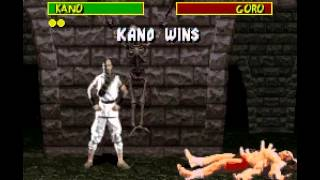 SNES Longplay [175] Mortal Kombat
