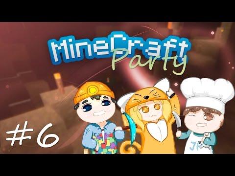 MineCraft Party | Бойня в пещере #6