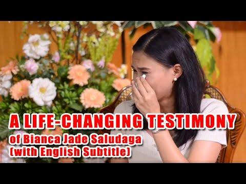 A LIFE-CHANGING TESTIMONY of Bianca Jade Saludaga