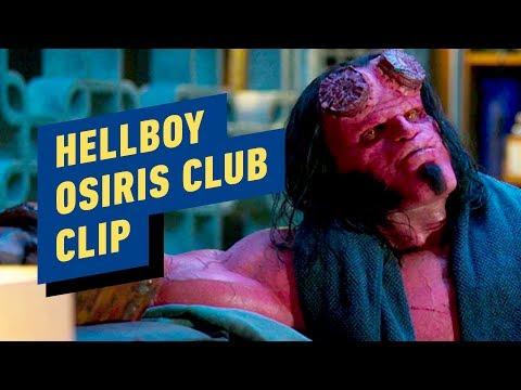 "Hellboy - ""Osiris Club"" Clip - Thời lượng: 33 giây."