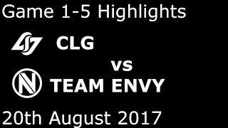 CLG vs NV Game 1-5 Highlights 2017 NALCS SUMMER SPLIT PLAYOFFS FULL HIGHLIGHTS QUARTERFINAL #2