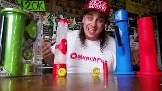 BONG MADE OF ICE!!!!! by Custom Grow 420
