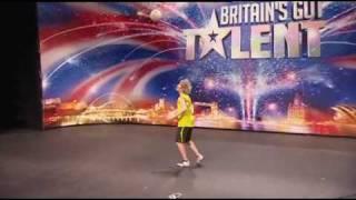 John Farnworth Football Freestyler - Britains Got Talent 2009 Episode 3 - 25th April