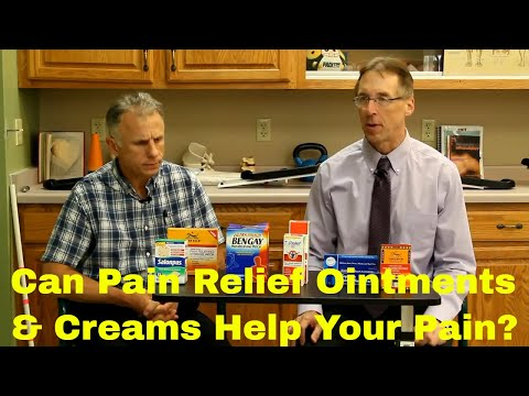 Can Pain Relief Creams/Ointments Help Your Neck, Back, Shoulder, Knee, or Hip Pain?