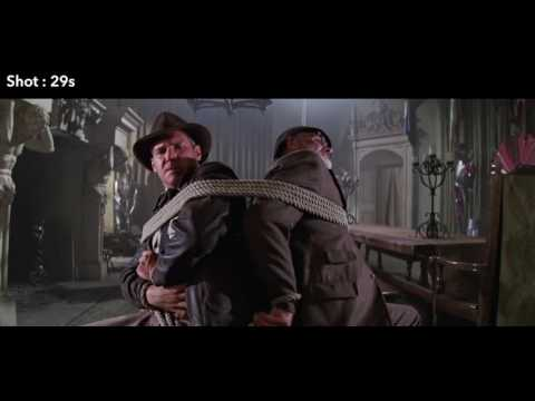 Spielberg art and style in Last crusade