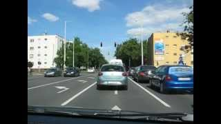 Debrecen Hungary  city photos gallery : Driving in Debrecen, Hungary