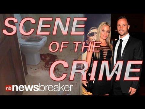 GRAPHIC PHOTOS: Sky News Shows Oscar Pistorius Bloody Crime Scene